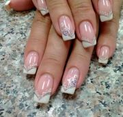 french wedding nails nails