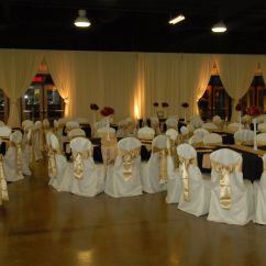 Anna Chair Cover & Wedding Linens Rental Burnaby Bc Walmart Patio Chairs Cream Black And Gold Weddings Events Pinterest