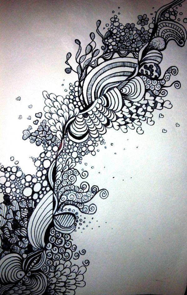 Love Sharpie Art Doodles