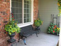Front Porch Planters   Garden Inspiration   Pinterest