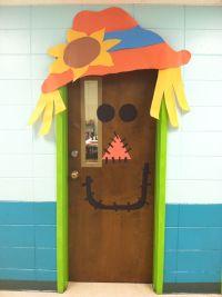 Halloween or Fall door decoration | Sunday School | Pinterest