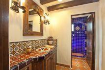 Mexican Tile Bathroom Idea