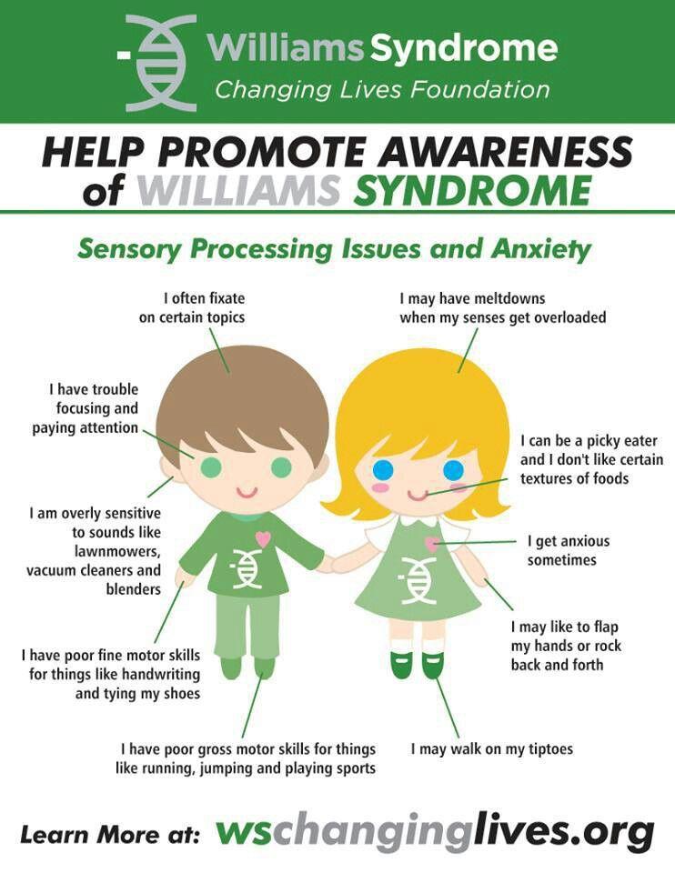 Williams syndrome | Team | Pinterest