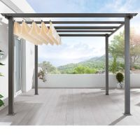 Retractable canvas pergola cover | Interior / exterior ...