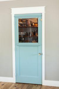Custom mint pantry door by Rafterhouse. | myrafterhouse ...