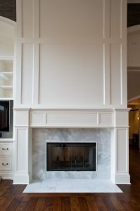 Great room fireplace   For the Home   Pinterest