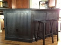 Kitchen bar - love the black beadboard!! | Home | Pinterest