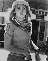Faye Dunaway in Bonnie & Clyde