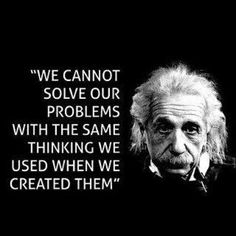 Einstein's wisdom