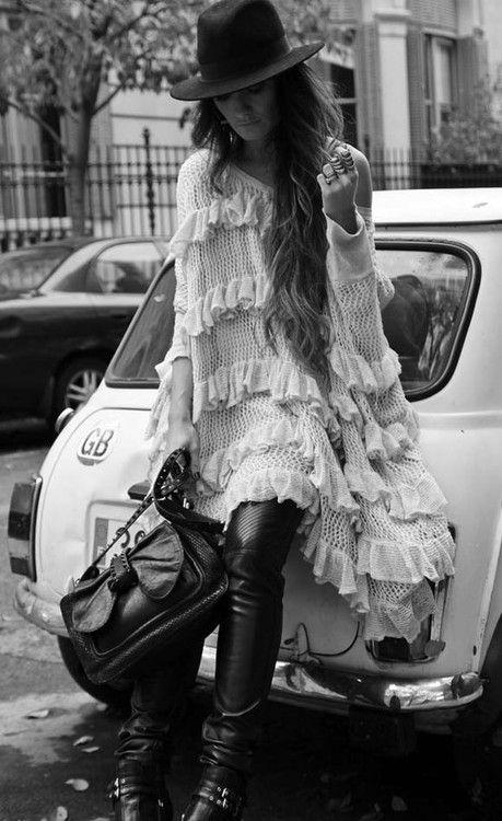 ZsaZsa Bellagio...sexy-cool style!