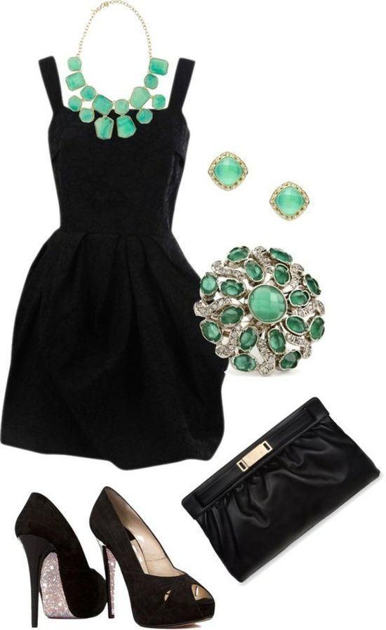 7 Ways to Spice Up Your Little Black Dress | You Put It On