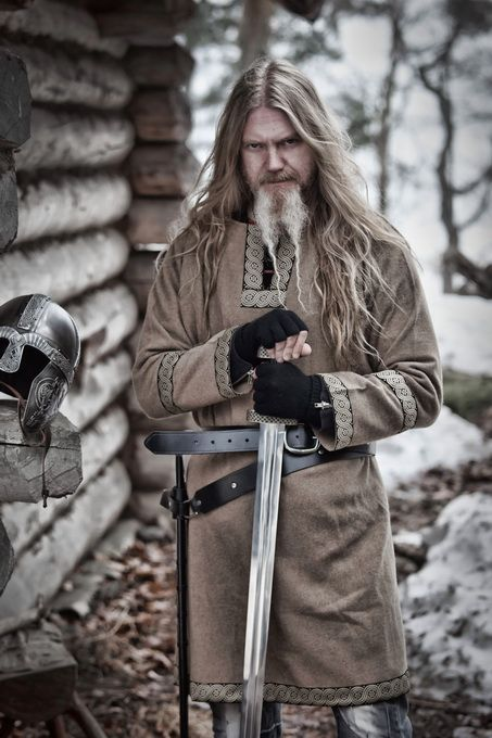 Marco Hietala (Nightwish) vistiendo el ropaje vikingo