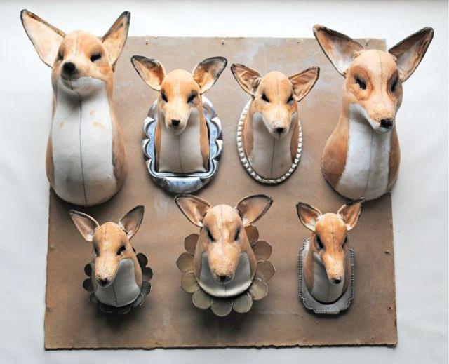 Pretty Things - Mr. Finch Textile Fox Heads