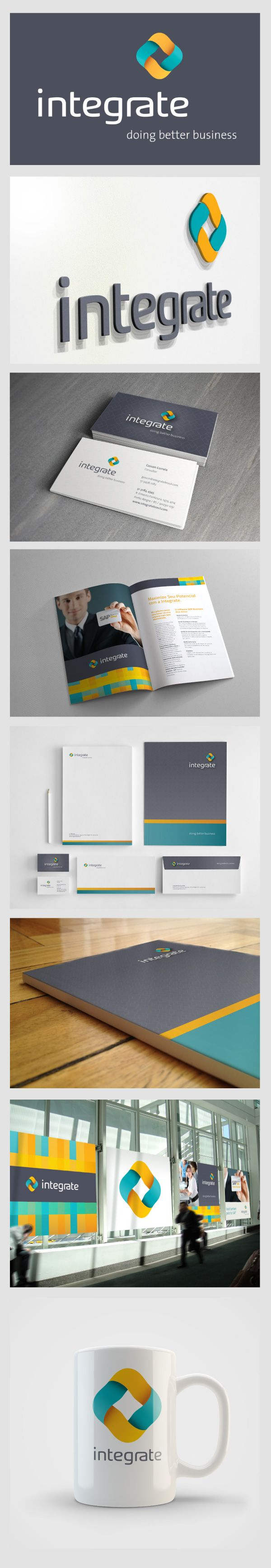 integrate branding # booklet design