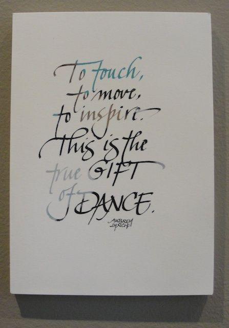 susangaylord.com: Studio Sunday-Dance Quotes