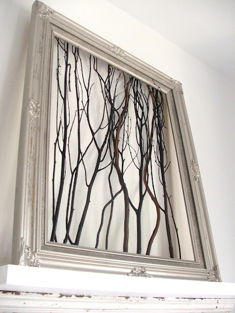 Branches DIY Picture frame