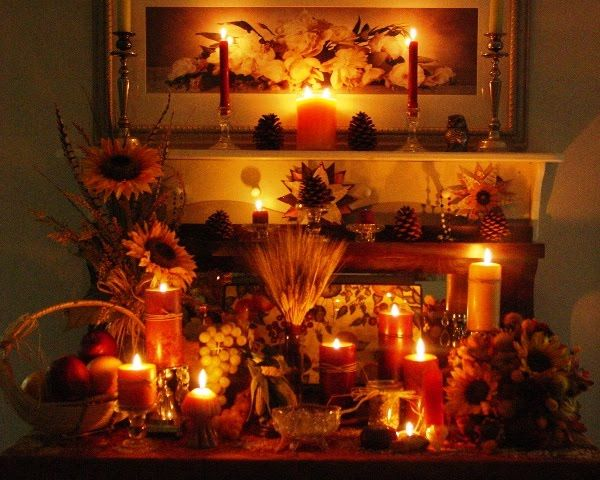 Beautiful Lughnasadh (Lammas) Altar.