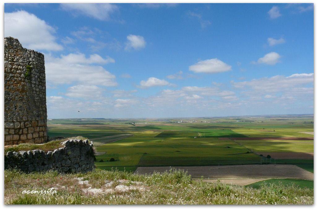 Urueña. Vista de la meseta castellana