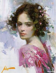 'Girl In Pink Dress'