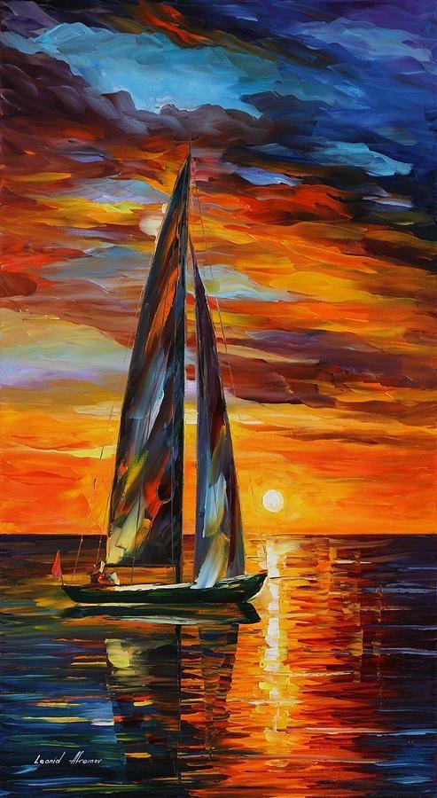 Vela Con Il Sole - Leonid Afremov