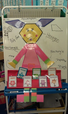 Miss Poly gon --common core 1st grade geometry unit!!!