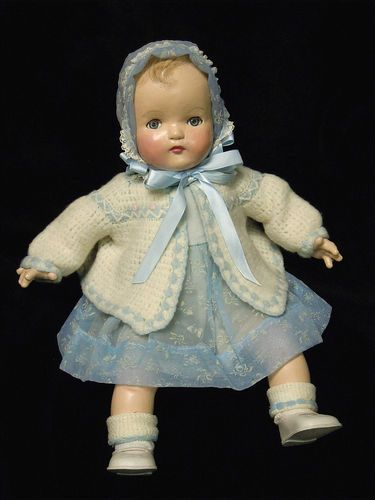 "Vintage Madame Alexander Composition Baby Doll - 19"" 1930's"