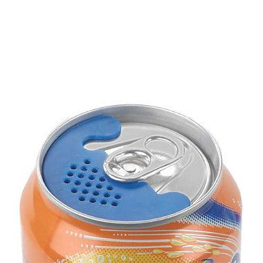 Don't let those pesky bugs invade your cans... Bug Screens for canned drinks - Inspired!