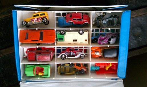 Matchbox cars and trucks