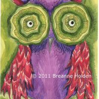Art Game- 'Whimsical Owl' by Breanne Holden