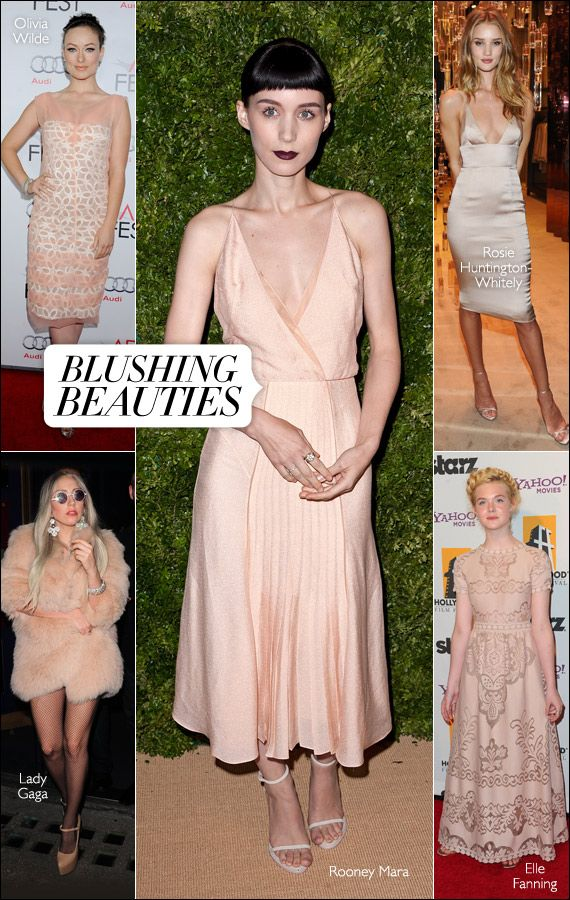 Powder pink is having a moment. #harpersbazaar #fashion #trends #pink #rooneymara