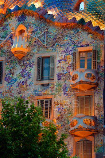 Casa Batlló ~ ~ Antoni Gaudi Barcellona, Catalogna