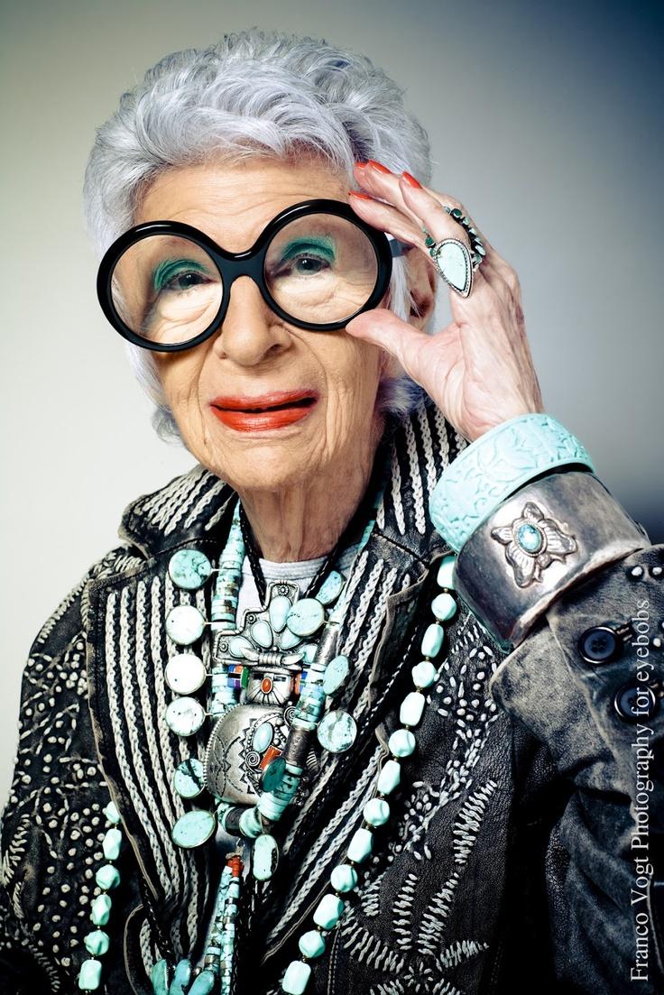 Style Icon - Iris Apfel