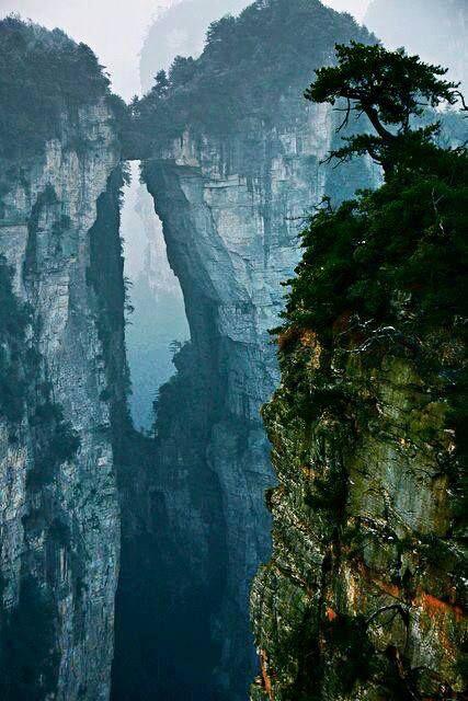 Zhangjiajie Stone Forest - China's Avatar Mountains. #travel