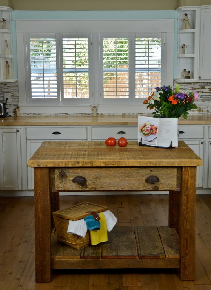 Love Kitchen Island Barnwood Made Out 1800 Wood