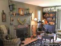 Primitive Living Rooms on Pinterest   Primitive Living ...