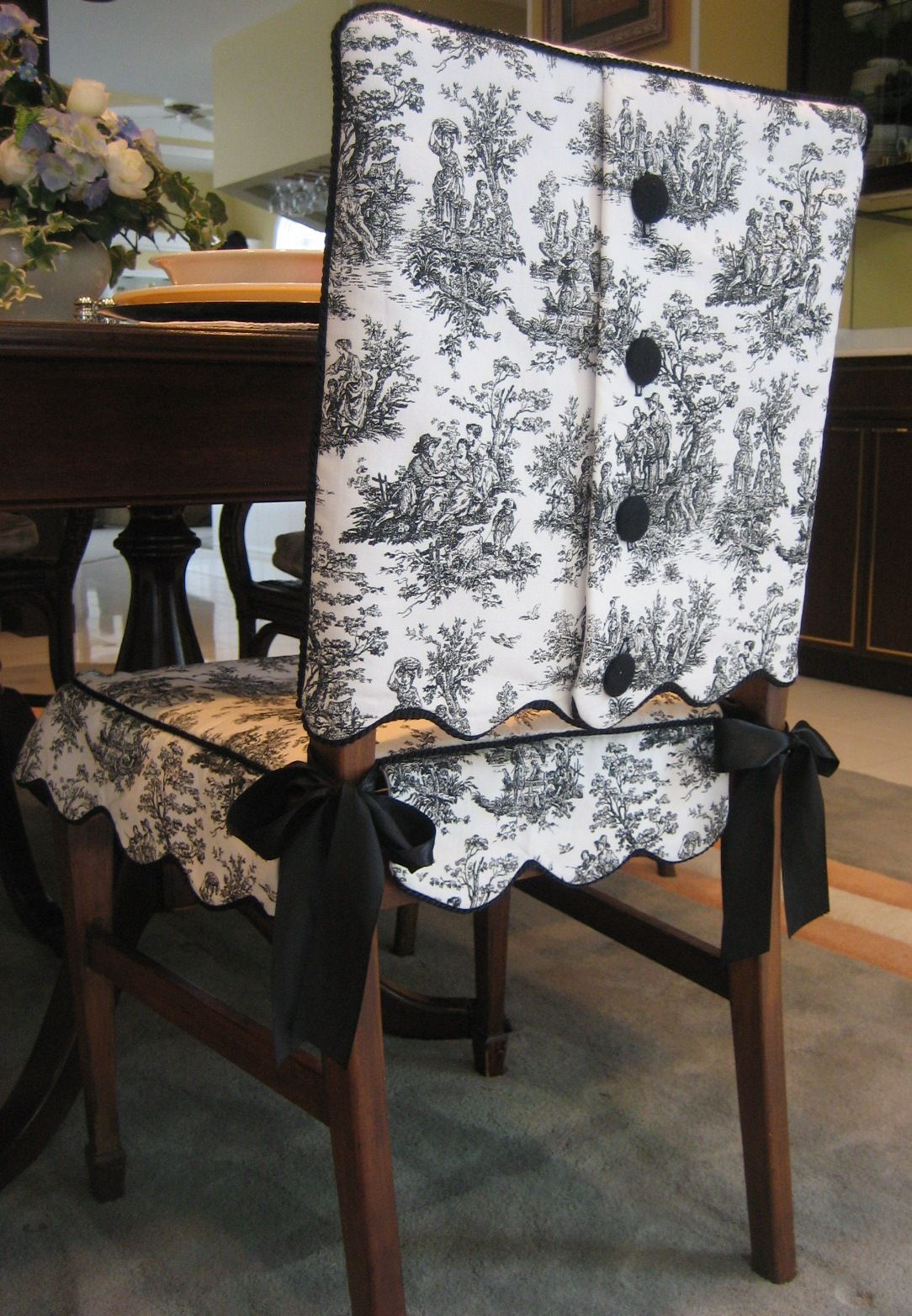 how to make kitchen chair back covers buy edmonton on pinterest