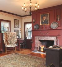 1000+ images about Colonial Rooms and Fireplaces on ...