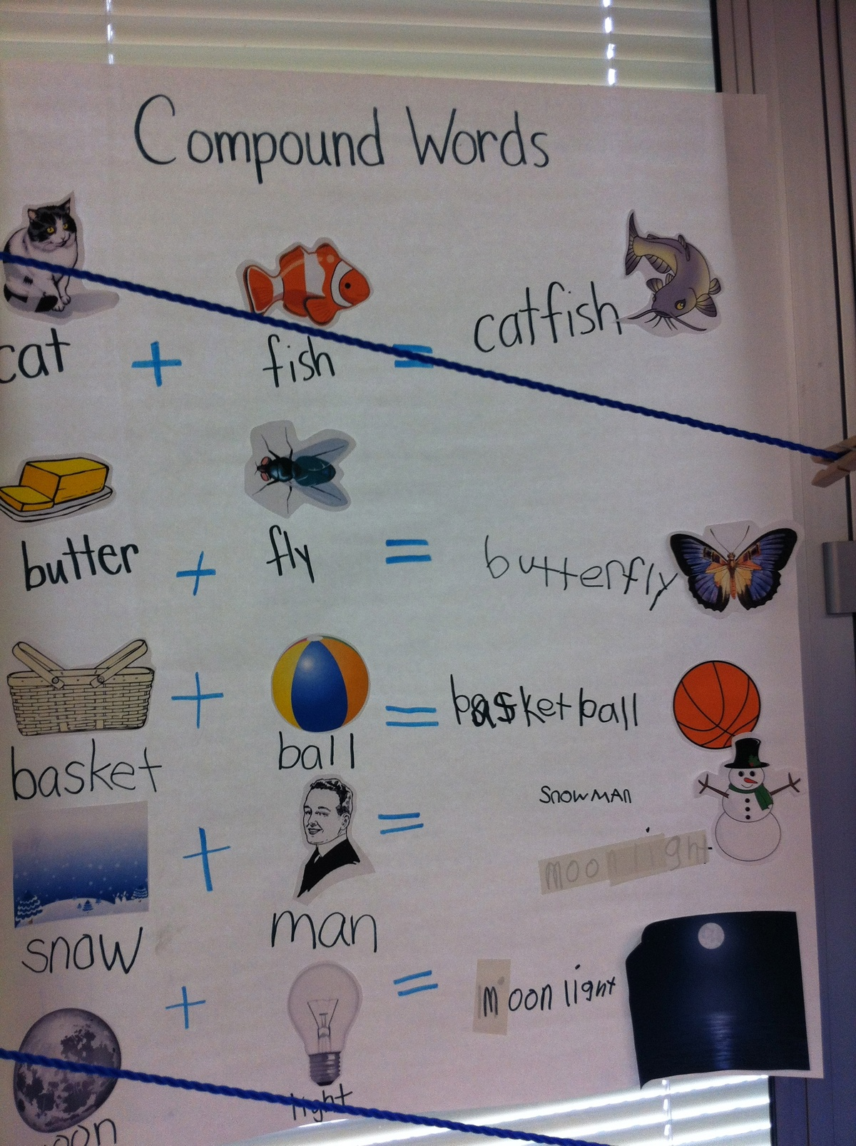 Compound Words Cut And Paste And Words