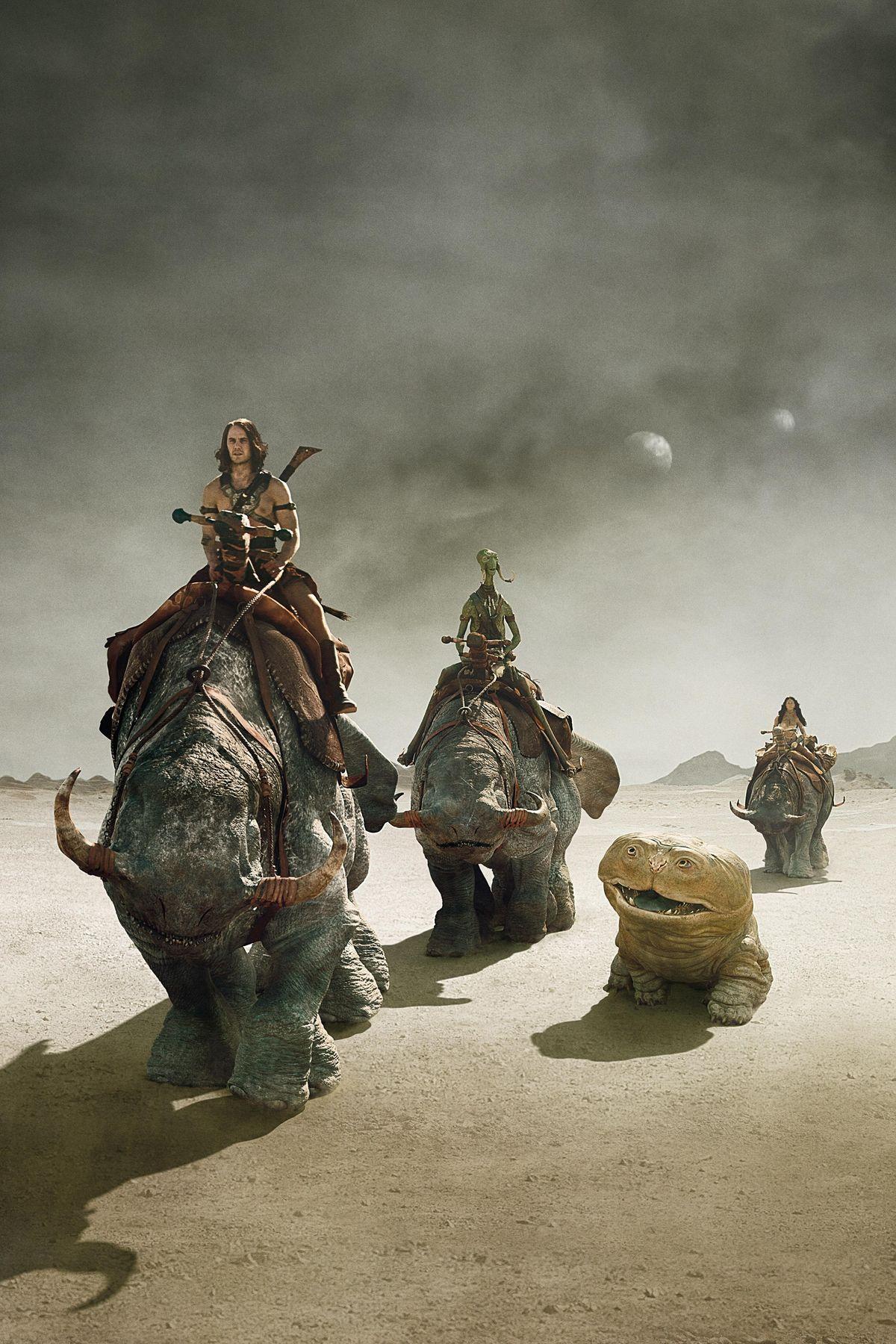 John Carter Streaming Vf : carter, streaming, Barsoom, Ideas, Carter, Mars,, Creature, Design,, Mythical, Creatures