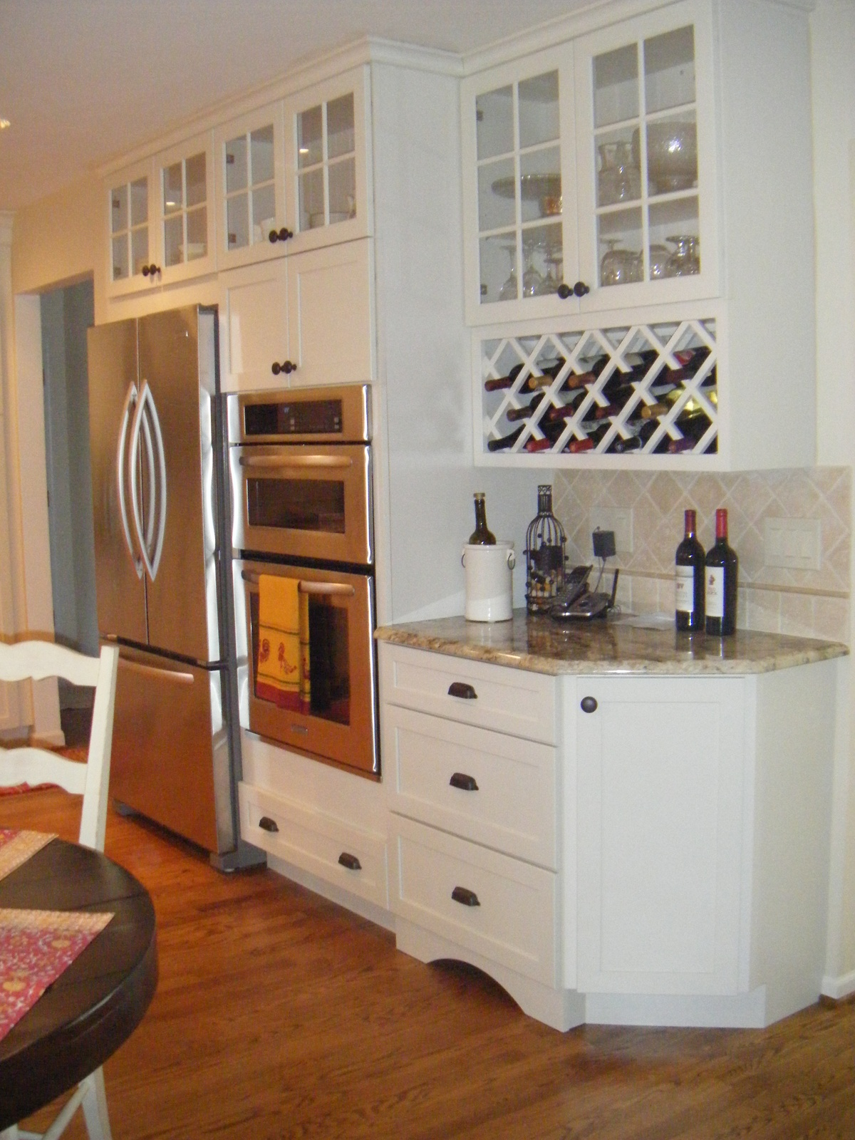 pottery barn kitchen hutch frigidaire appliances farmhouse sinks grey granite countertops and on