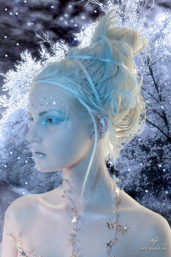 Winter Snow Ice Queen Costumes