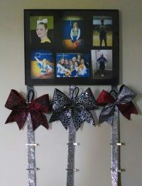 1000+ images about Cheer Bow Holders on Pinterest