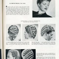 Pin Curl Diagram 02 Saturn Sl1 Wiring 1940 S Finger Wave Hairstyles Images Holocausto
