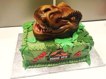 Jurassic World Birthday Cake Ideas 1000 Little Man Dinosaur Party