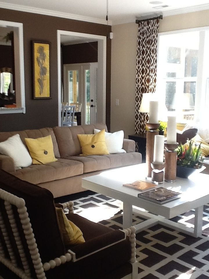 Color palette idea for new living room already have the browns greens yellow would really go well with all natural light   ideas also rh pinterest
