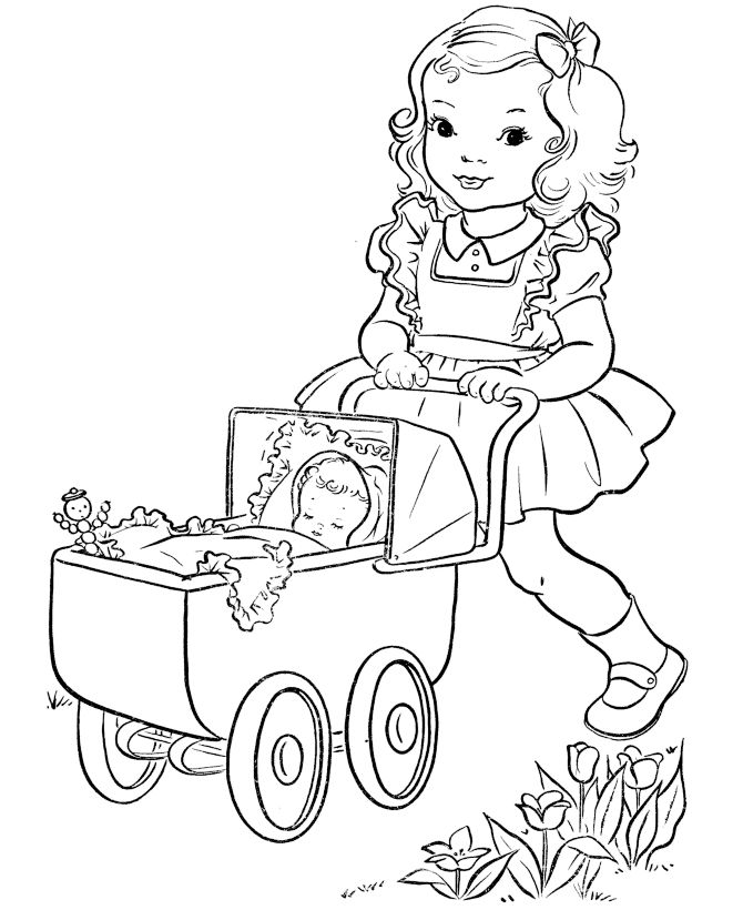 1000+ images about Coloring Girl & Boys/Dresses on