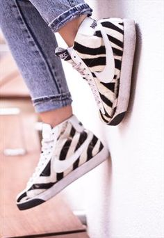 Nike Zebra High Top Blazer Trainers   £100