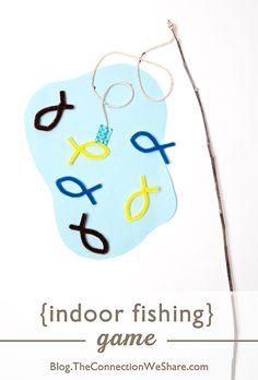 Indoor Fishing - Fun Activities For Children
