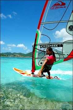need to learn how to wind surf!! (and regular surf)