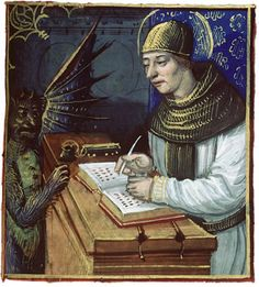 "Titivillus is often referred to with the title of ""The Patron Demon of Scribes"".   As with all of us, minds can wander from time to time and the monks were no exception. When this happened, errors would be introduced into the text. No one likes to take credit for his own mistakes, and true to human nature the monks invented Titivillus. He was invented somewhat in jest by them, both to take the blame for their mistakes and as a warning to the hapless monk whose mind strayed from the task."
